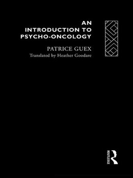 Book An Introduction to Psycho-Oncology by Patrice Guex