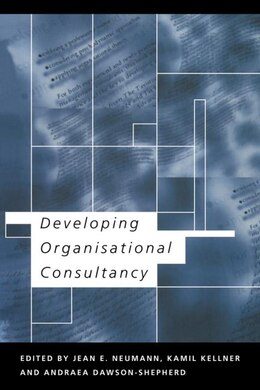 Book Developing Organisational Consultancy by Andraea Dawson-shepherd