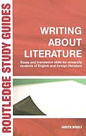 Writing About Literature: Essay and Translation Skills for University Students of English and…
