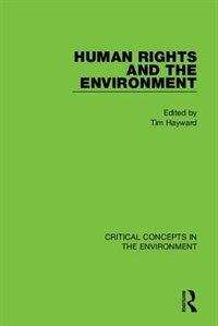 Hayward: Human Rights And The Environment, 4-vol. Set