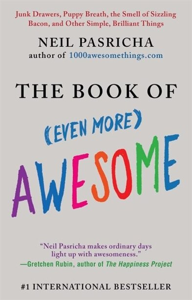 The Book Of (even More) Awesome: Junk Drawers, Puppy Breath, The Smell Of Sizzling Bacon, And Other Simple, Brilliant Things by Neil Pasricha