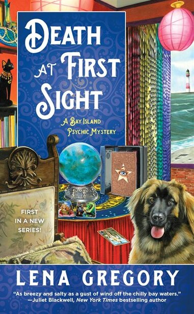 Death At First Sight: A Bay Island Psychic Mystery by Lena Gregory