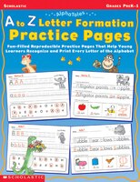 AlphaTales: A to Z Letter Formation Practice Pages: Fun-filled Reproducible Practice Pages That…