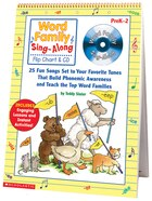 Sing-Along Flip Chart and CD: Word Family: 25 Fun Songs set to your Favorite Tunes that Build…