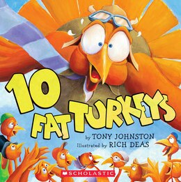 Book Ten Fat Turkeys by Tony Johnston