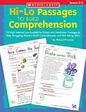 Hi-Lo Passages to Build Reading Comprehension: 25 High-Interest/Low Readability Fiction and…
