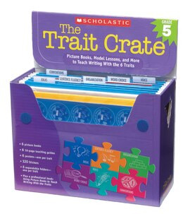 Book Trait Crates: Grade 5: Picture Books, Model Lessons, and More to Teach Writing With the 6 Traits by Ruth Culham