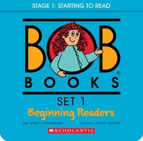 Bob Books Set 1- Beginning Readers (Box Set): Box Set