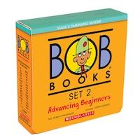 Bob Books Set 2- Advancing Beginners (Box Set): Box Set
