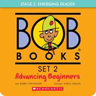 Bob Books Set 2- Advancing Beginners (Box Set): Box Set by Bobby Lynn Maslen