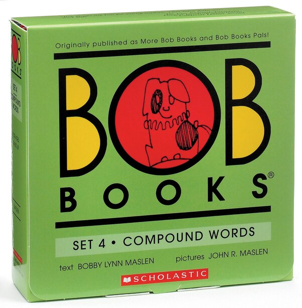 Bob Books Set 4- Complex Words (Box Set): Box Set by Bobby Lynn Maslen
