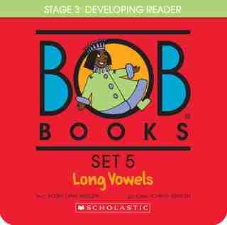 Bob Books Set 5- Long Vowels (Box Set): Box Set by Bobby Lynn Maslen