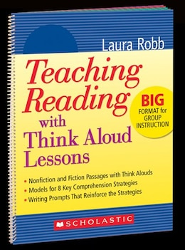 Book Teaching Reading With Think Aloud Lessons by Robb, Laura