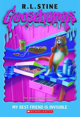 Book Goosebumps #57: My Best Friend Is Invisible by R L Stine