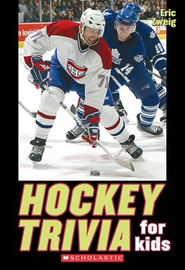 Book Hockey Trivia For Kids by Eric Zweig