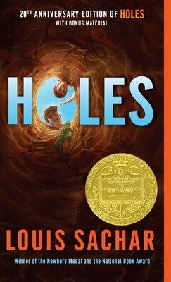 Book Holes by Louis Sachar