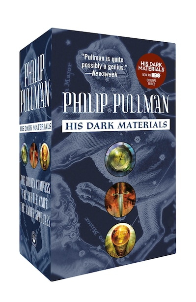 His Dark Materials 3-book Mass Market Paperback Boxed Set: The Golden Compass; The Subtle Knife; The Amber Spyglass by Philip Pullman
