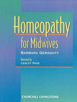 Book Homeopathy for Midwives by Barbara Geraghty