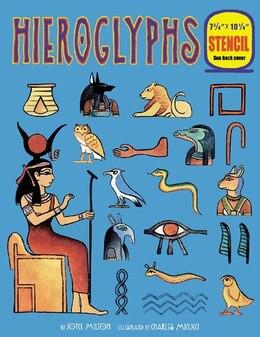 Book Hieroglyphs by Joyce Milton