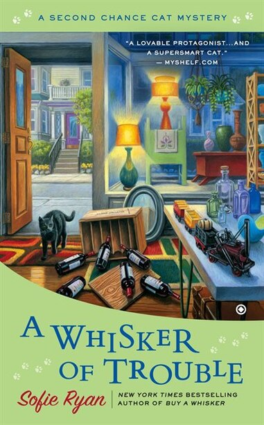 A Whisker Of Trouble: A Second Chance Cat Mystery by Sofie Ryan