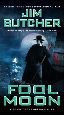 Book Fool Moon: Book Two of the Dresden Files by Jim Butcher