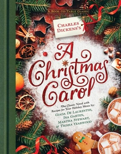 Charles Dickens's A Christmas Carol: A Book-to-table Classic, Book by Charles Dickens (Hardcover ...