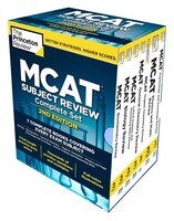 Book Princeton Review Mcat Subject Review Complete Box Set, 2nd Edition: 7 Complete Books + Access To 3… by Princeton Review