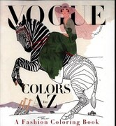Book Vogue Colors A To Z: A Fashion Coloring Book by Valerie Steiker