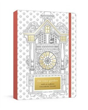 The Time Garden Week At A Glance Coloring Diary For Dates