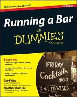 Book Running a Bar For Dummies by Ray Foley