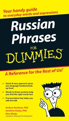 Book Russian Phrases For Dummies by Andrew Kaufman