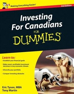 Book Investing For Canadians For Dummies by Tony Martin