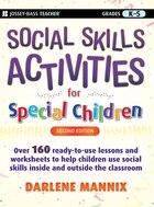 Social Skills Activities for Special Children