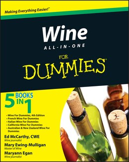 Book Wine All-in-One For Dummies by Ed McCarthy