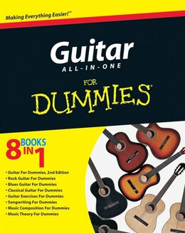 Book Guitar All-in-One For Dummies by Consumer Consumer Dummies