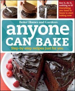 Book Anyone Can Bake by Homes & Garde Better