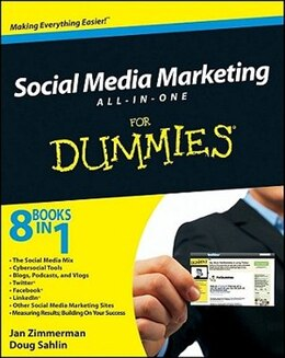 Book Social Media Marketing All-in-One For Dummies by Jan Zimmerman