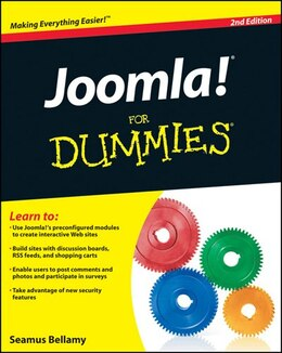 Book Joomla! For Dummies by Seamus Bellamy