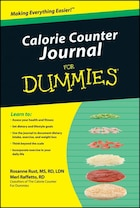 Calorie Counter Journal For Dummies