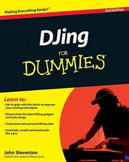 Book DJing For Dummies by John Steventon