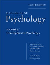Handbook of Psychology, Developmental Psychology