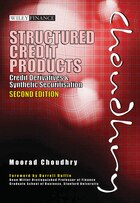 Structured Credit Products: Credit Derivatives and Synthetic Securitisation