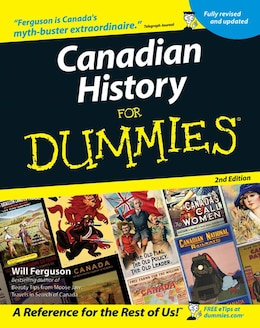 Book Canadian History for Dummies by Will Ferguson