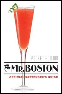 Book Mr. Boston, Pocket Edition: Bartenders Guide by Mr. Boston