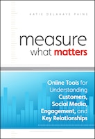 Measure What Matters: Online Tools For Understanding Customers, Social Media, Engagement, and Key…