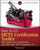 MCTS Certification Toolkit (Exam 70-515): Web Application Development With Microsoft .net Framework…