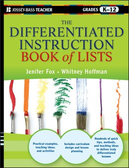 Book The Differentiated Instruction Book of Lists by Jenifer Fox