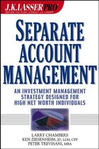 J.K. Lasser Pro Separate Account Management: An Investment Management Strategy Designed for High…