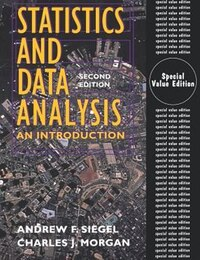 Statistics and Data Analysis: An Introduction