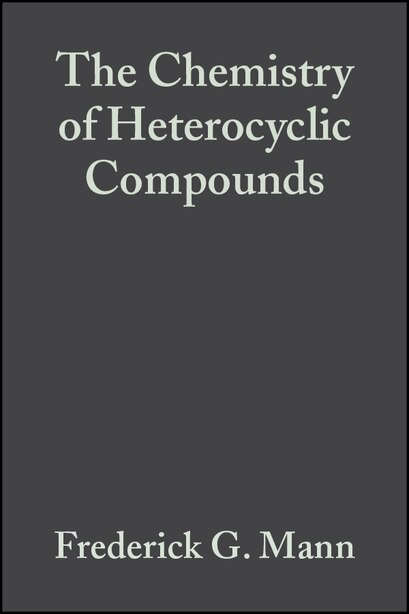 Heterocyclic Derivatives of Phosphorous, Arsenic, Antimony and Bismuth by Frederick G. Mann
